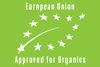 European Union Approved for Organics Logo